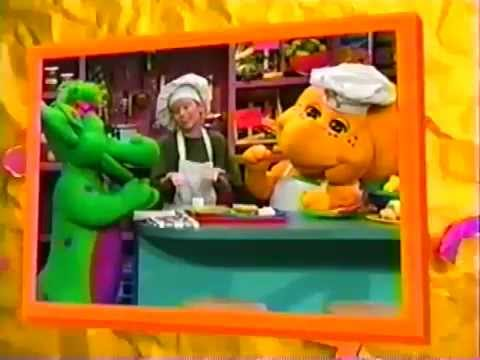 Barney Friends Lets Eat Ending Credits Youtube