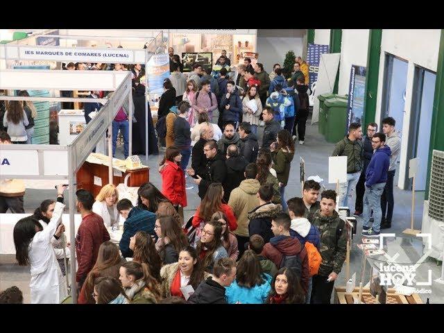 VÍDEO: Inauguración del Salón del Estudiante de Lucena. Te invitamos a conocerlo en este vídeo.