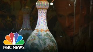 Chinese Vase Kept In A Shoebox Sells For $19 Million | NBC News