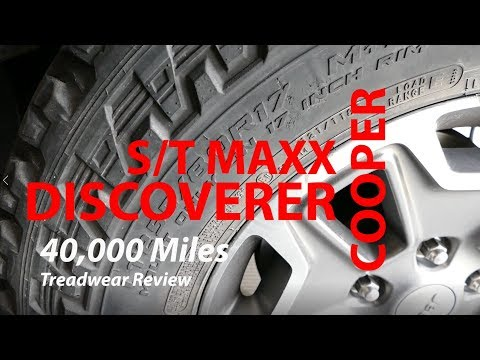 Cooper Discoverer ST MAXX 40,000 Mile Treadwear Review
