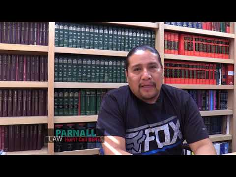 Video Testimonial - Eddie Tenorio | Parnall Law Firm