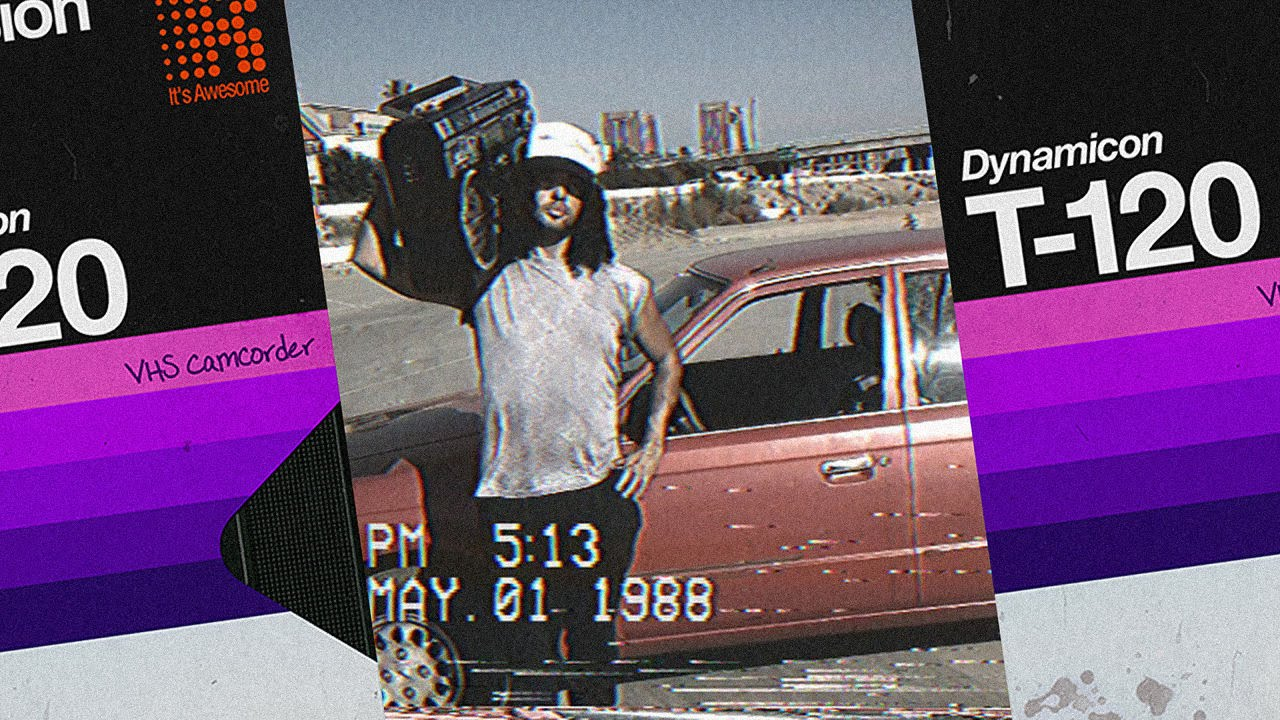 VHS Camcorder IPhone App Review-1990s Look