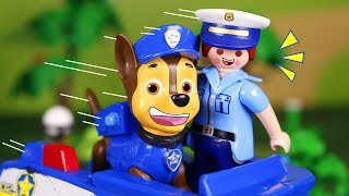 Paw Patrol Toys 🐾 Chase helps the police 👮