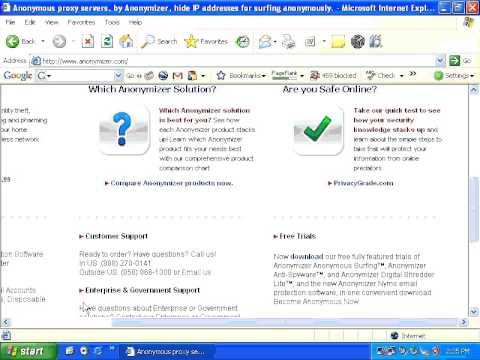 Proxy server Hack