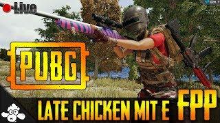 🔴 Playerunknown's Battlegrounds 🐔 | Late Chicken mit E | FPP | Deutsch / German | Live #484