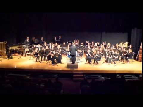 """Sticks and Stones"" by James Bonney - Poland Seminary High School Wind Ensemble"