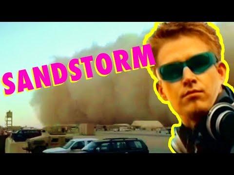 Darude Sandstorm MADE FROM A SANDSTORM  Andrew Huang