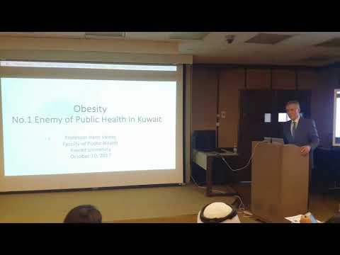Obesity – No.1 Enemy of Public Health in Kuwait السمنة العدو الأول للصحة العامة في الكويت