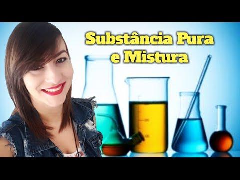 Aula 6 - Aprenda a diferença entre SUBSTÂNCIAS PURAS E MISTURA (Prof. Michelle Leal)