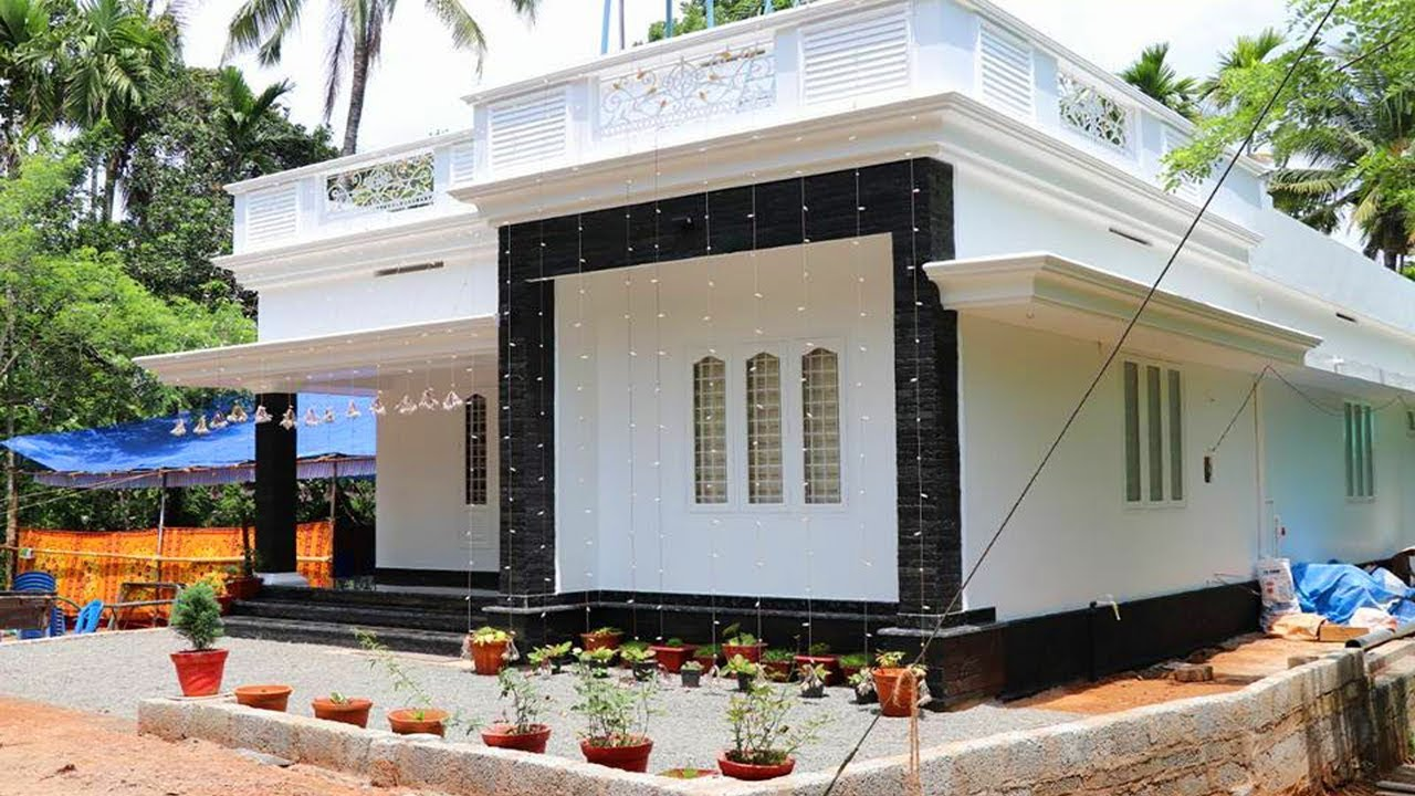 Cute Small House For 13 Lakh Kerala House Model Low Cost Kerala