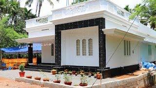 Cute Small House For 13 Lakh Kerala House Model - Low Cost Kerala
