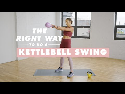 Discover the Kettlebell Swing in 4 Simple Steps