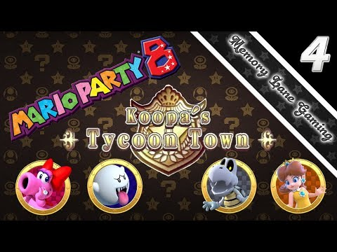 Mario Party 8 - Koopa's Tycoon Town - Ep. 4: Crossing The Street