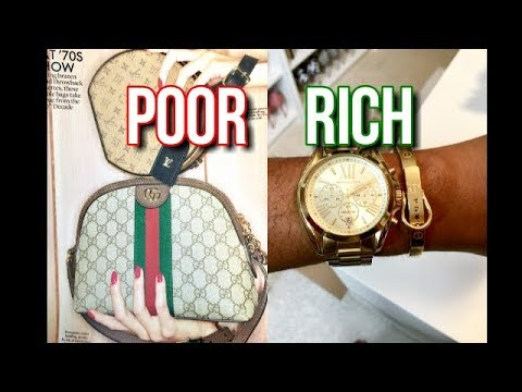 RICH Mindset VS POOR Mindset When it Comes to Shopping- How to be a Budget Shopper