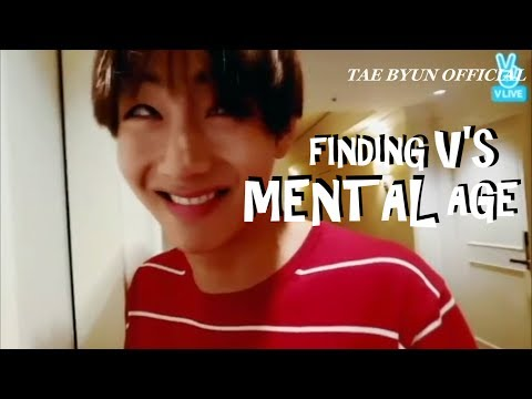 BTS FINDING TAEHYUNG'S MENTAL AGE[ABSURD MOMENTS]