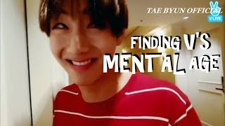 BTS FINDING TAEHYUNG'S MENTAL AGE[ABSURD MOMENTS] MP3