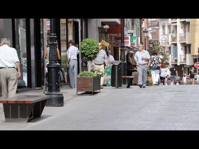 VÍDEO: La próxima semana se iniciará la instalación de los toldos en las calles del centro urbano lucentino