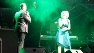 """Sommernacht des Musicals 2012 - Sabrina Weckerlin und Christian Alexander Müller """"Wehrlos"""""""