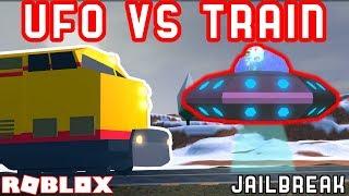 UFO GEGEN DEN ZUG | Roblox Jailbreak Mythos sprengt #11