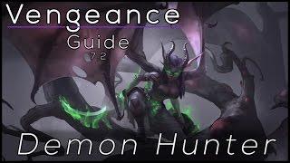 Legion - Vengeance Demon Hunter - Full Tanking Guide 7.2 [Basics]