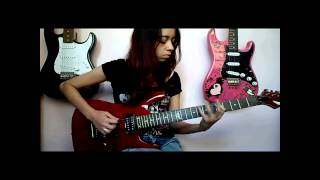 Carry On My Wayward Son - Kansas (Guitar Cover by. Debora Almeida)