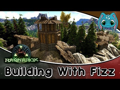 ARK: Building w/ Fizz :: Ragnarok Viking Town Part1