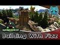 ARK: Building w/ Fizz :: Ragnarok Viking Town Part1