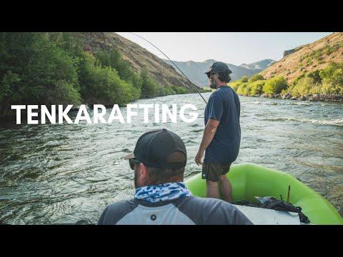 TENKARAFTING - (Tenkara Fly Fishing From A Boat)