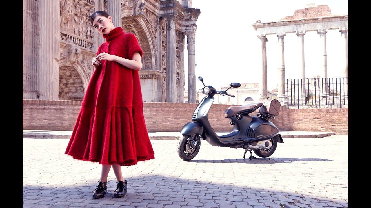 宮本彩菜のローマの休日 Ayana Miyamoto shooting@ Rome for ELLE JAPON