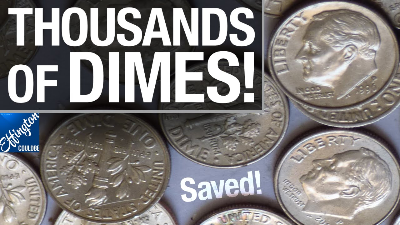 Guess How Many Dimes Save Your Coins Youtube