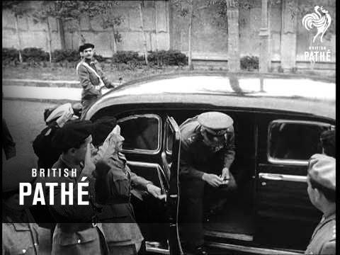 General Neguib - Government Crisis (1954)