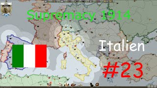 Supremacy 1914 #23 (deutsch) - Italien (Europakarte)