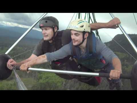 Hang Gliding on Vancouver Island