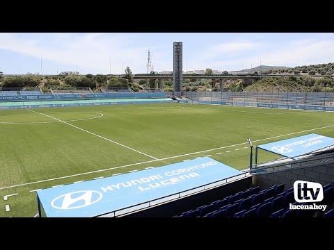 VÍDEO: El ayuntamiento sustituirá el césped del Estadio Municipal en diciembre y el del campo 1 de la Ciudad Deportiva durante el verano