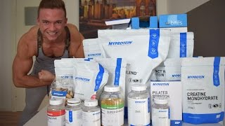 Fettes 500€ MyProtein Unboxing