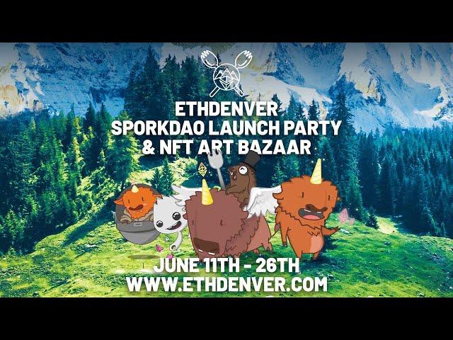 $SPORK Token Launch Party and NFT Art Auction