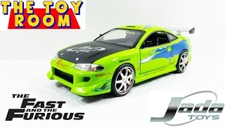 Fast And The Furious 1:24 Diecast Paul Walker's Mitsubishi Eclipse Review