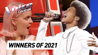 Blind Auditions of every WINNER of The Voice 2021 so far - the voice france 2021 winner