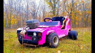 Barbie Hummer Готов Дрифт и Тест Драйв