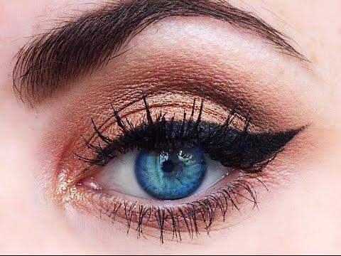 maquillaje para resaltar ojos azules celestes youtube