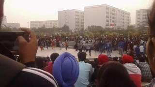 chandigarh university    cu fest    practice    open club