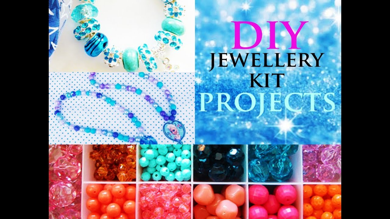Easy Jewellery Making Kit For Beginners Diy Kids Unboxing Demonstration