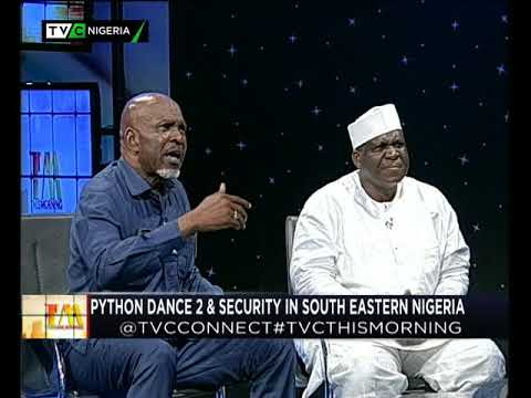 This Morning 14th September 2017 | Pythom Dance 2 and Security in Southeastern Nigeria