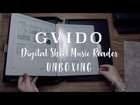 GVIDO Sheet Music Reader | What's in the box??