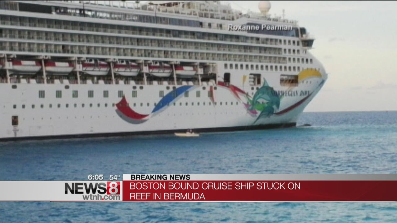 Norwegian Dawn Cruise Ship Freed After Running Aground Off Bermuda - Cruise ship dawn