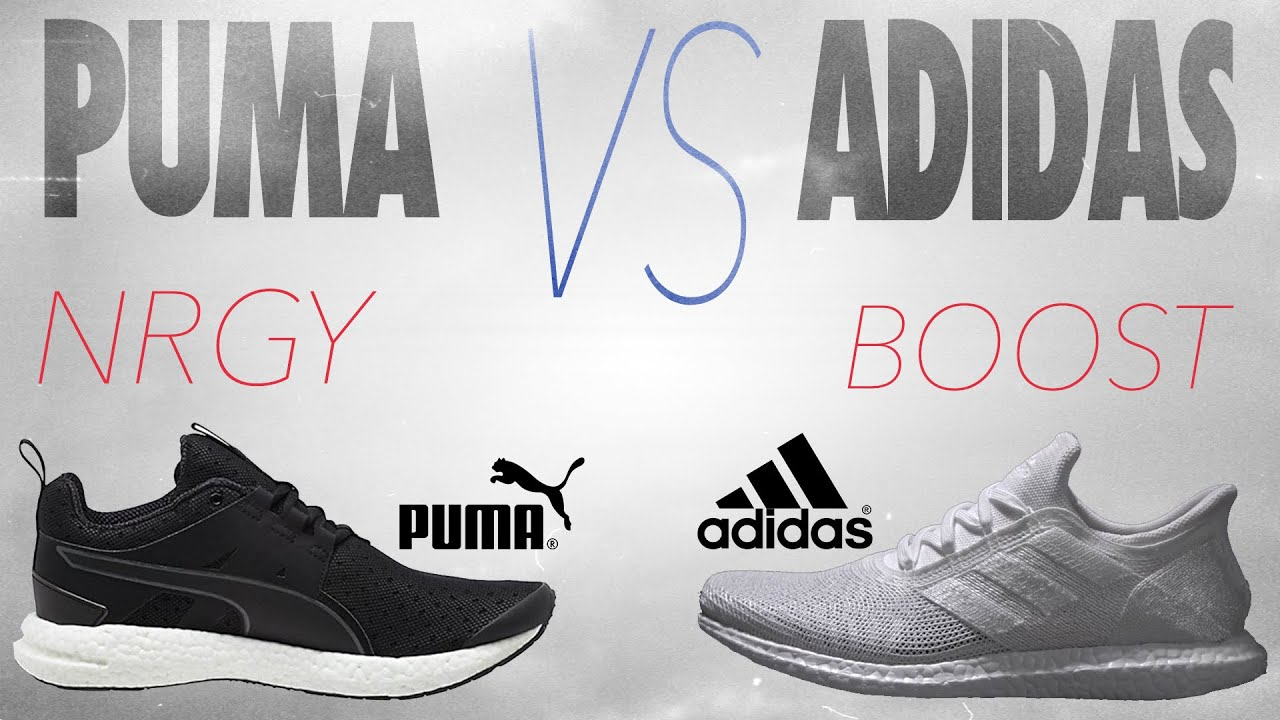 puma energy vs adidas boost