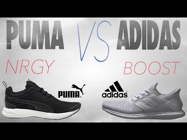 Puma NRGY vs Adidas Boost! - YouTube