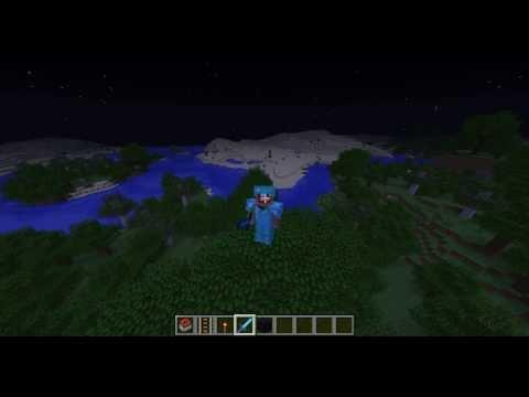 Как Полететь на Луну в Minecraft