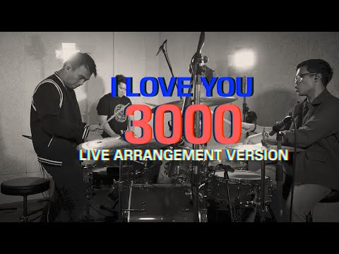 I LOVE YOU 3000 - STEPHANIE POETRI (DUADRUM COVER)