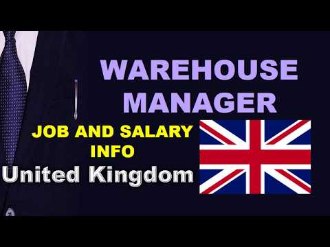 Warehouse Manager Salary In The UK - Jobs And Wages In The United Kingdom